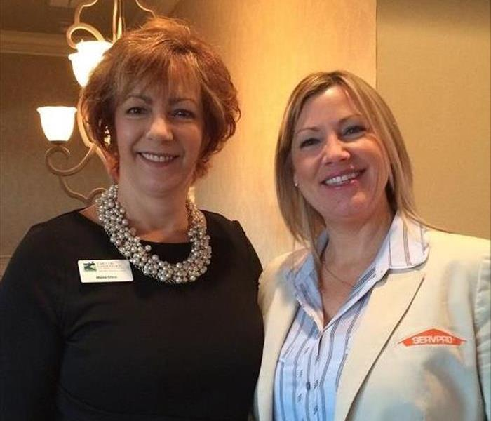Beth Russell and Marie Oliva from the Cape Cod Canal Regional Chamber of Commerce