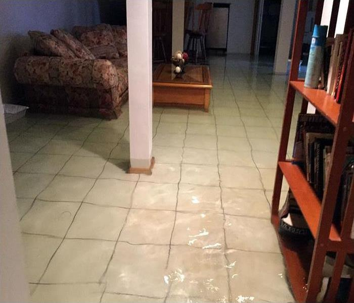 inches of water in a Centerville home after storm