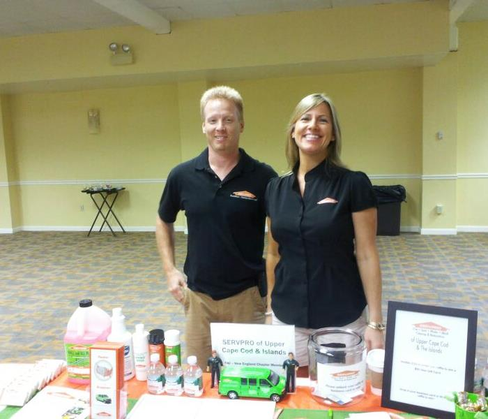 Bill and Beth Russell, Owners of SERVPRO of Upper Cape Cod & The Islands